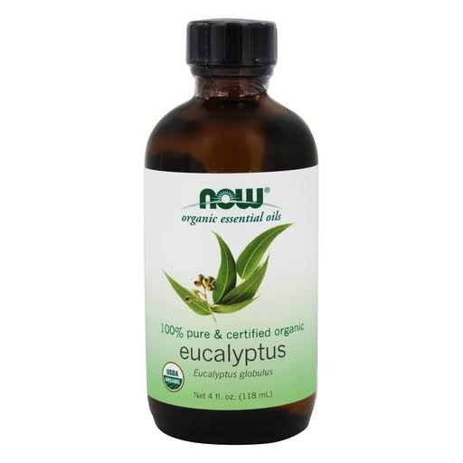 Now Foods Eucalyptus Oil, Organic - 4 fl. oz.