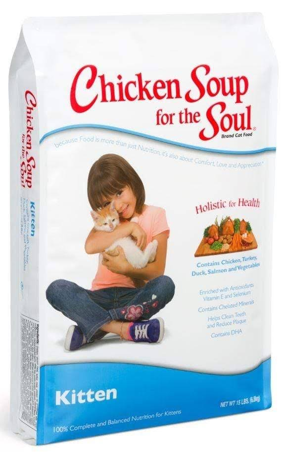 Chicken Soup for The Soul - Kitten Dry Cat Food - 5 lbs.