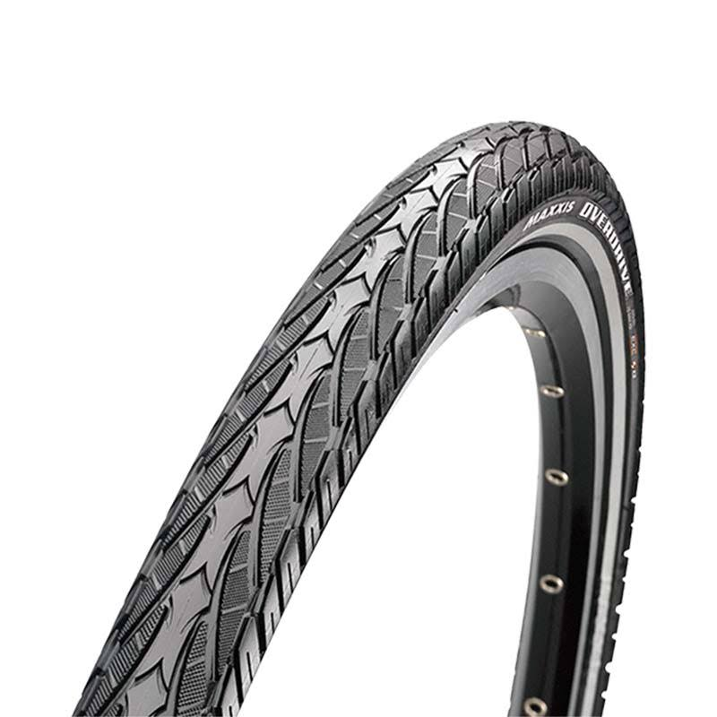 Maxxis Overdrive Maxxprotect Hybrid Bike Tyre - Wire Black, 700x38c