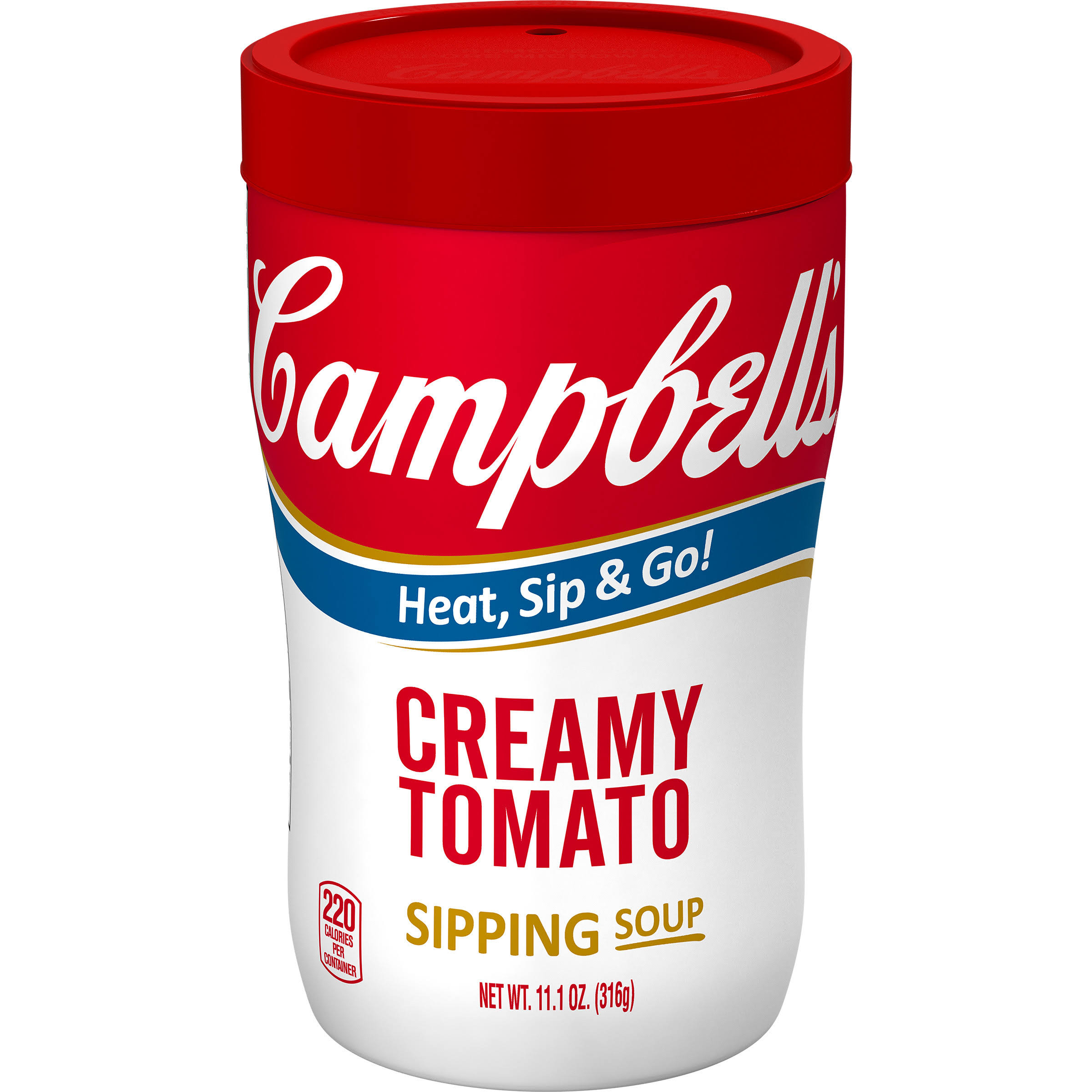 Campbell's Soup on the Go Creamy Tomato - 10.75oz
