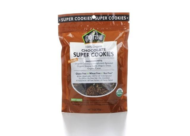 Go Raw 100 Organic Chocolate Super Chips - 3oz