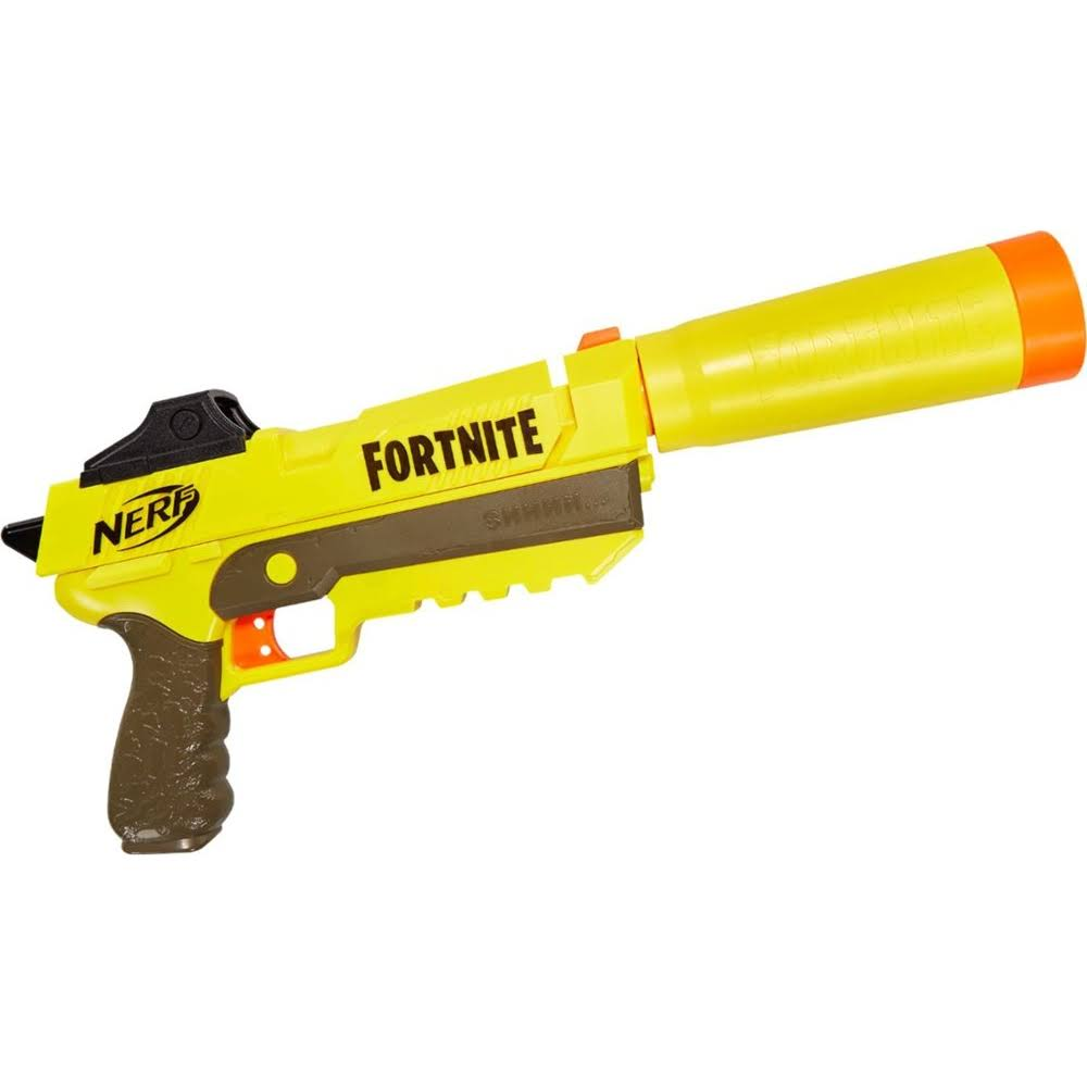 Nerf Fortnite SP-L Elite Dart Blaster - with 6 Nerf Fortnite Elite Darts