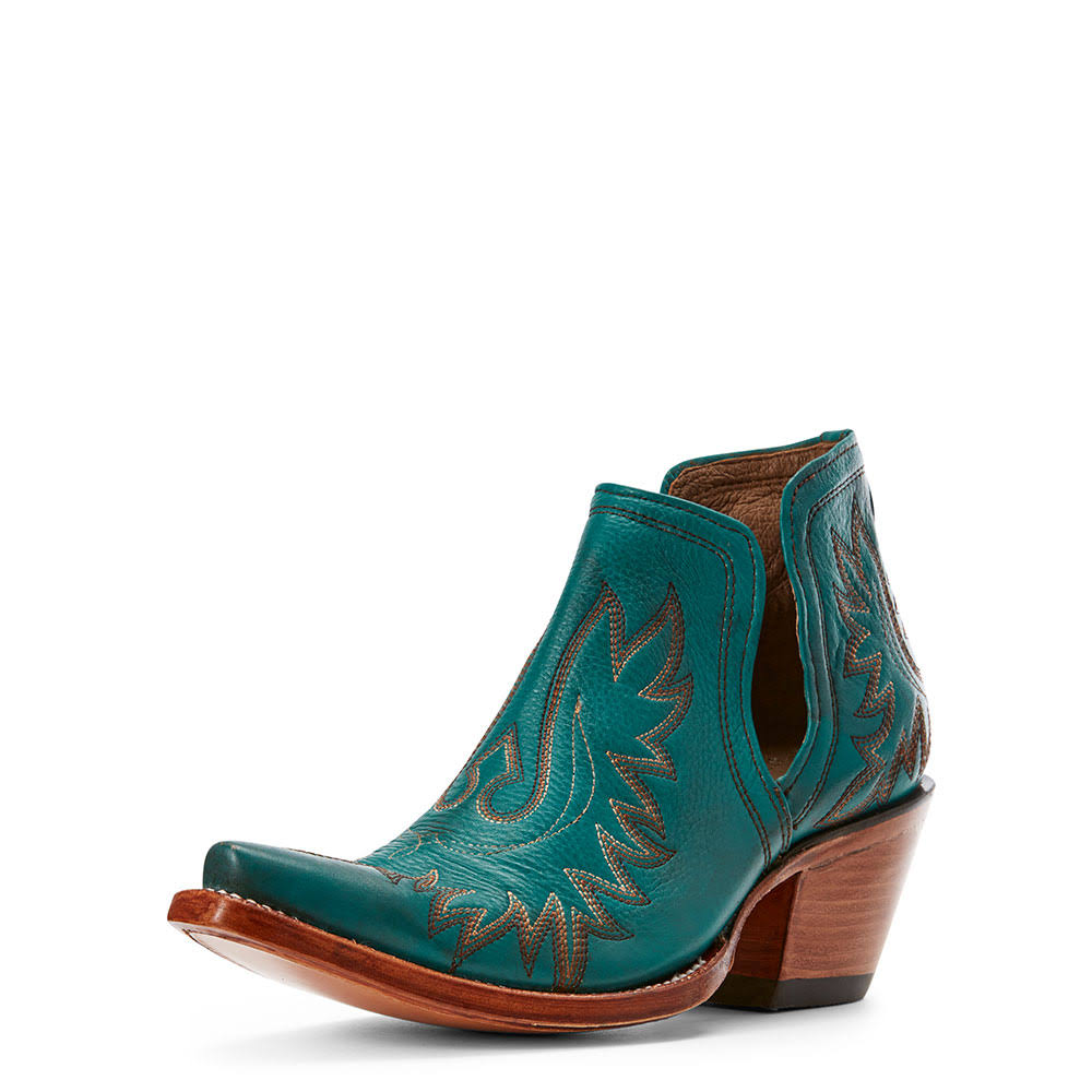 Ariat Women's Dixon Ankle Booties - Agate Green, 8 US