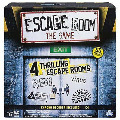 Spin Master Escape Room The Game Board Game