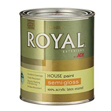 Ace Royal Exteriors Semi-Gloss Latex Neutral Base House Paint - 1 Quart