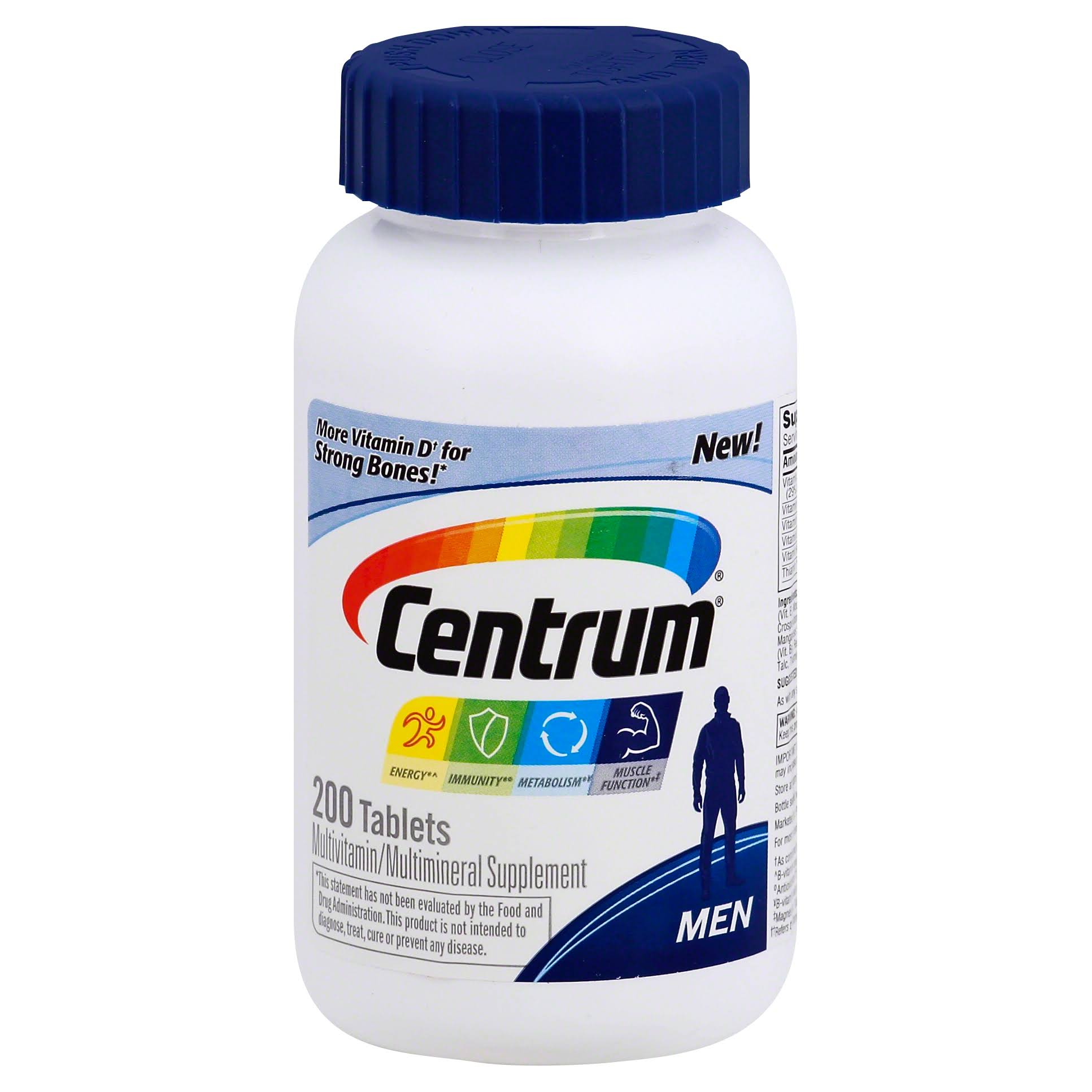 Centrum Men Multivitamin and Multimineral Supplement - 200ct