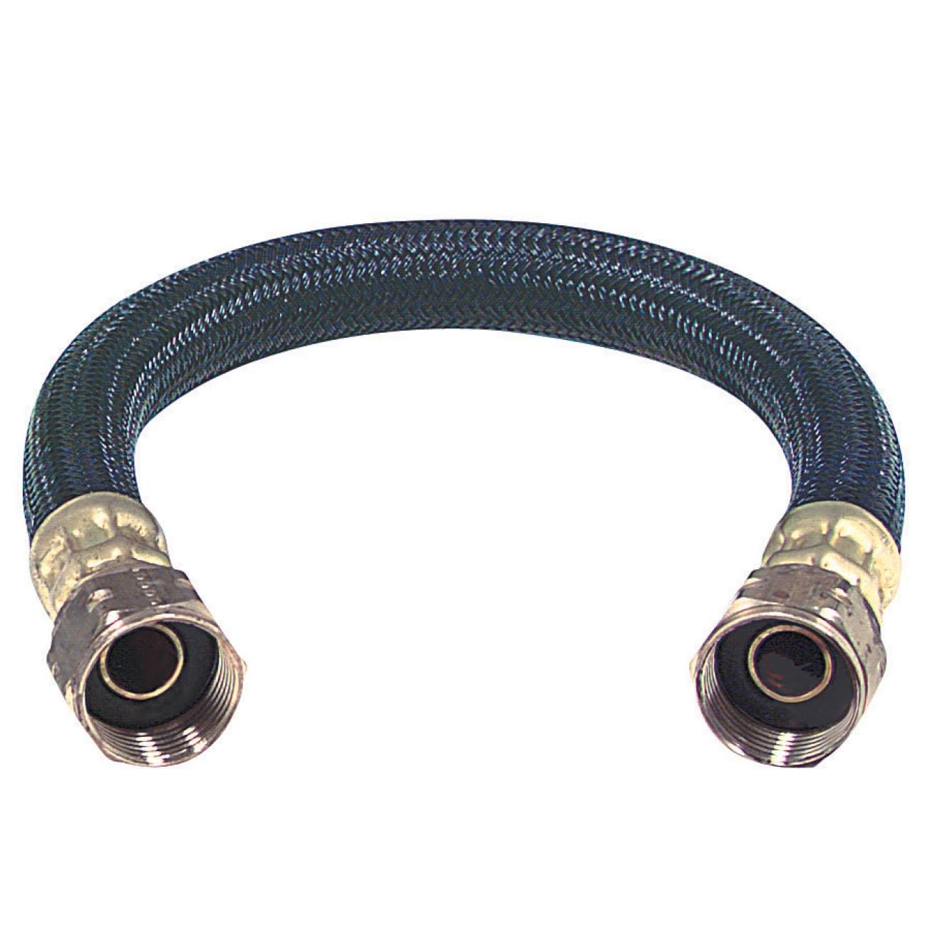 Brass Craft Bwb024 Polymer Braid Water Heater Connector - 24""