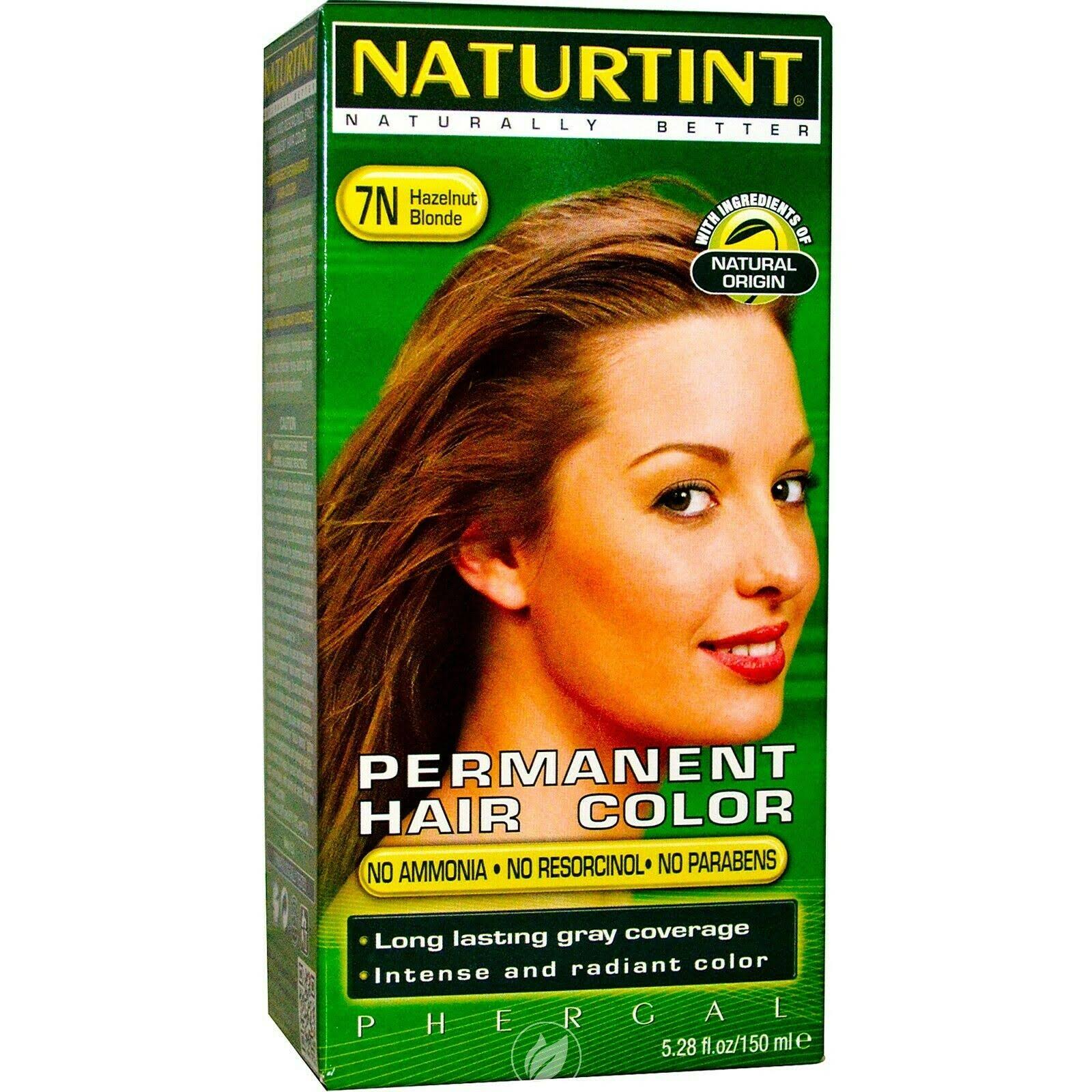Naturtint Permanent Hair Colorant - Hazelnut Blonde 7N