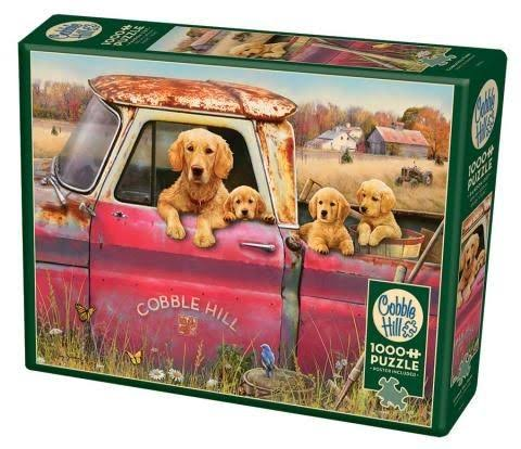 Cobble Hill Farm 1000-Piece Jigsaw Puzzle