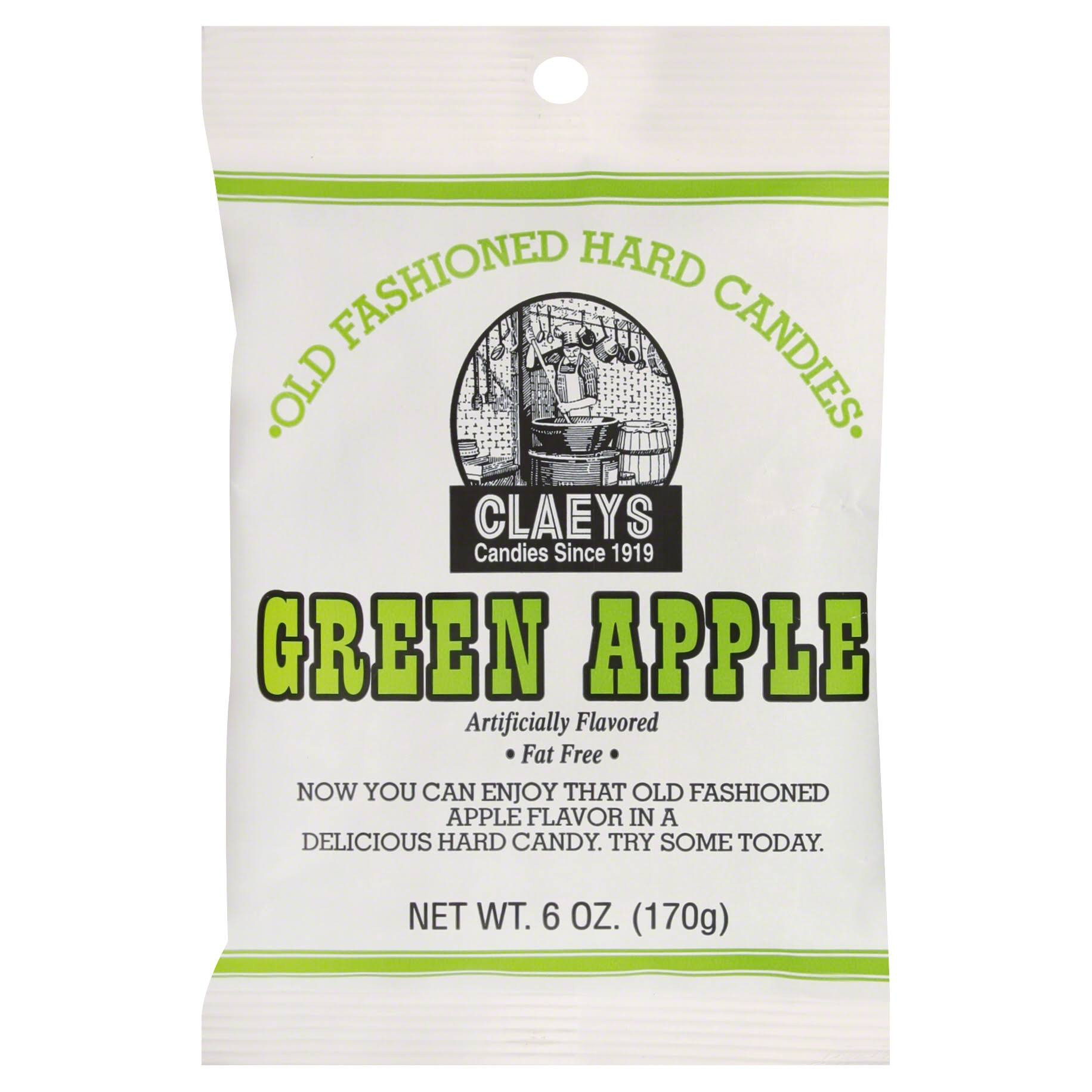 Claey's Old Fashioned Hard Candies - Green Apple