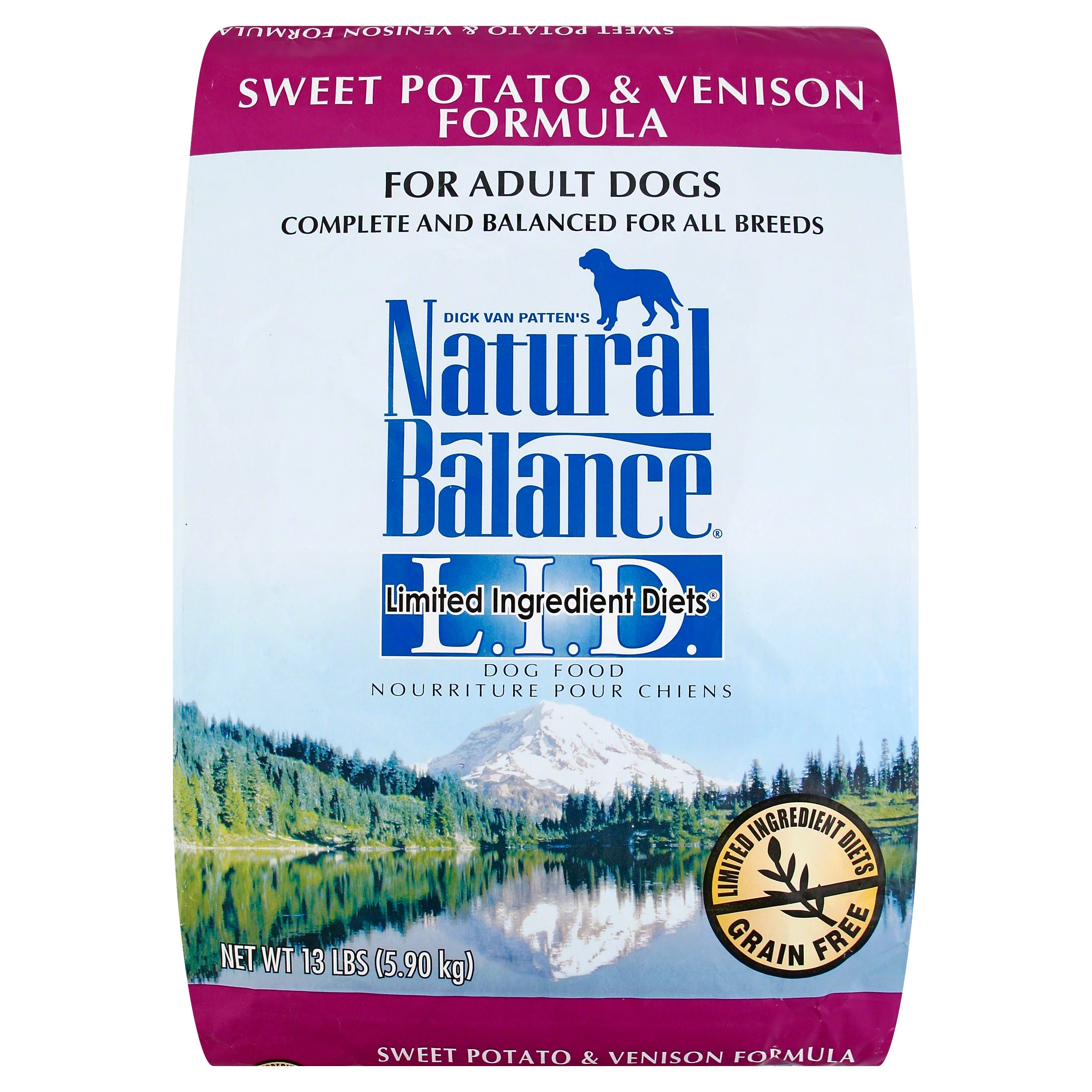Natural Balance Limited Ingredient Diets Dog Food - Sweet Potato and Venison Formula