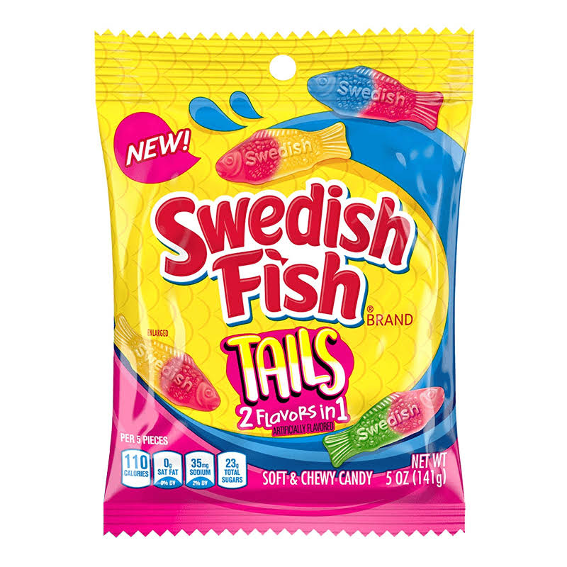 Swedish Fish Tails Peg Bags by Candy Concepts
