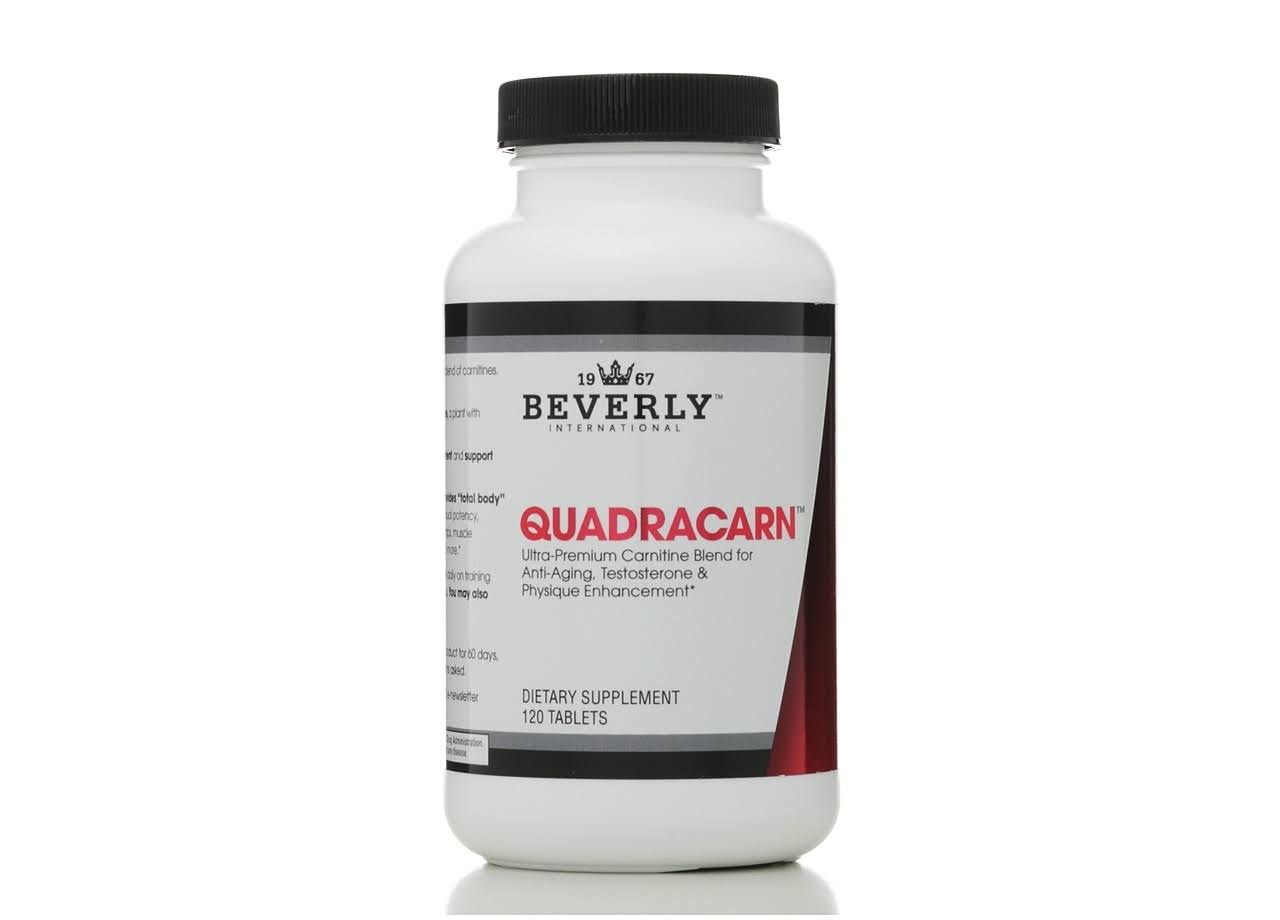 Beverly International Quadracarn Supplement - 120 Tablets