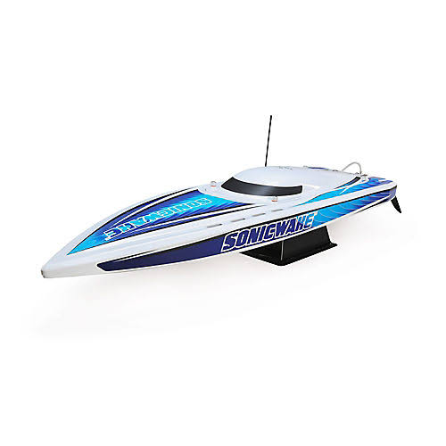 "Pro Boat Sonicwake 36"" Self-Righting Brushless Deep-V RTR, White"