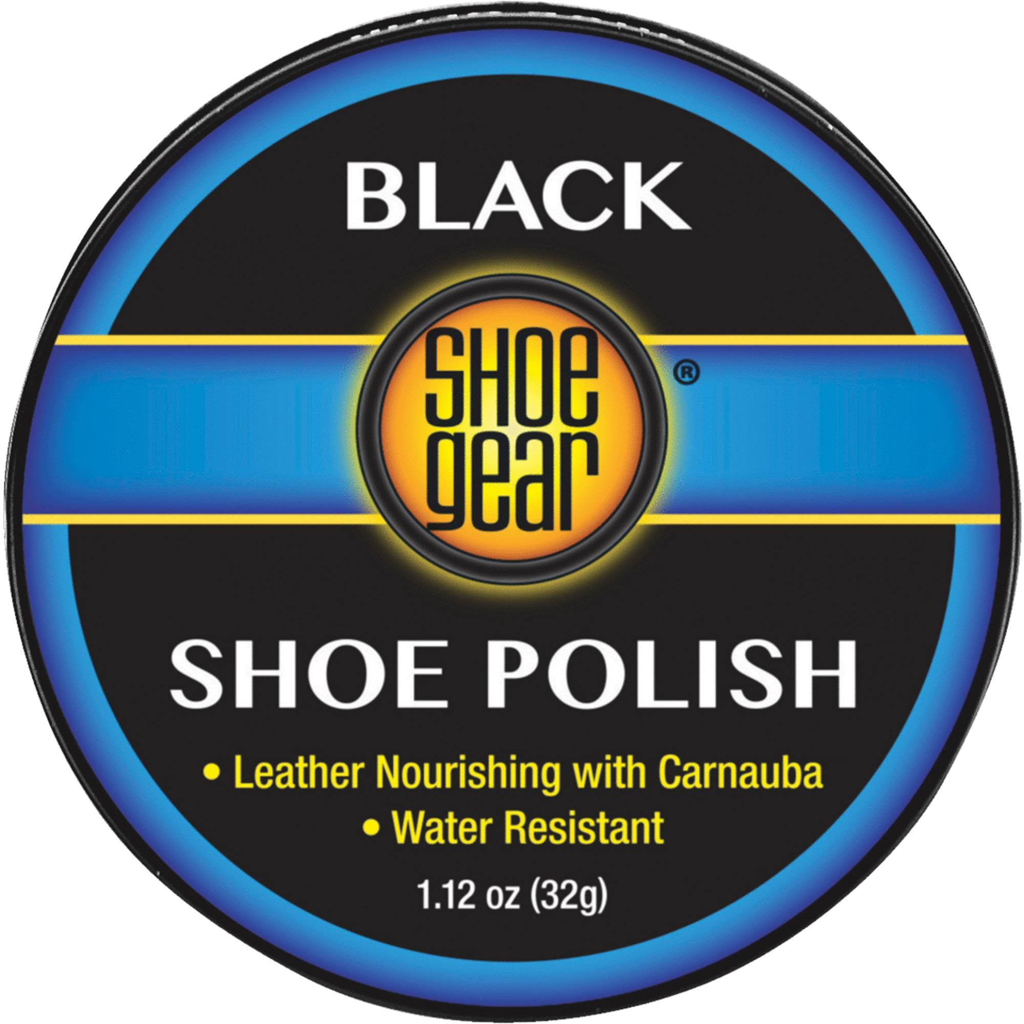 Shoe Gear Paste Polish - Black