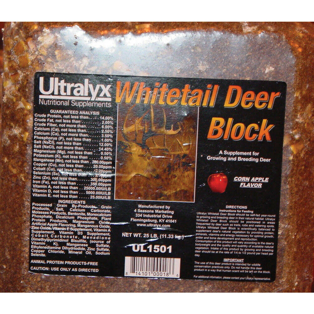 Ridley Whitetail Deer Block 25 Pound