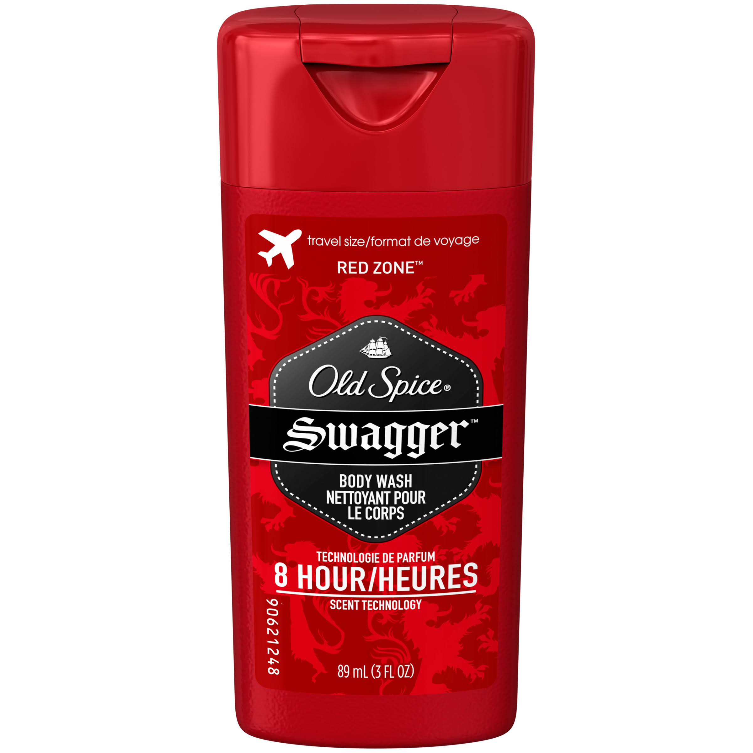 Old Spice Red Zone Men's Body Wash - Swagger Scent, 3oz