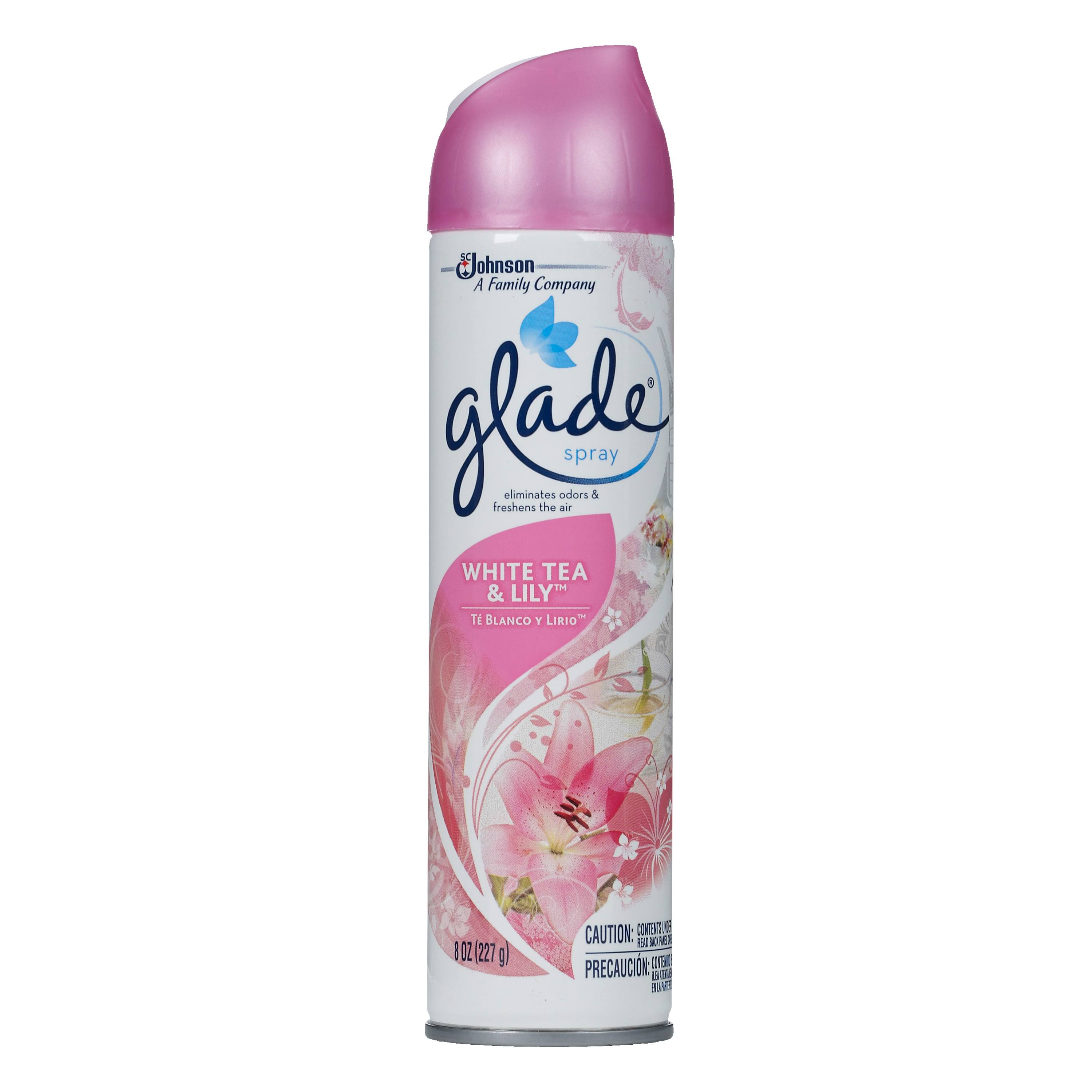 Glade Room Spray Air Freshener - White Tea and Lily, 8oz
