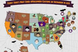 Which Countries Celebrate Halloween The Most by The 26 Most Popular Halloween Costumes By State Mental Floss