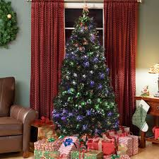 Vickerman Flocked Slim Christmas Tree by Holiday Time Pre Lit 7 5 U0027 Green Flocked Birmingham Fir Artificial