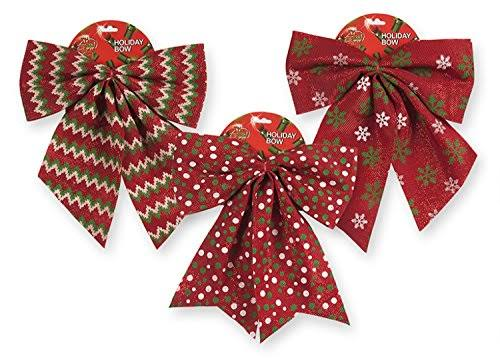 Candy Cane Striped Bow