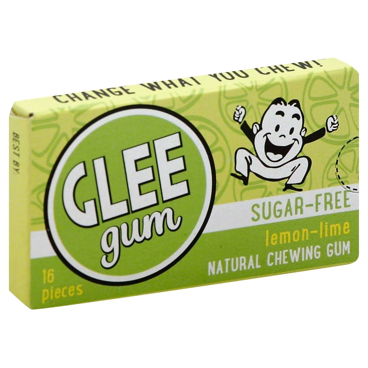 Glee Gum Sugar-Free - Lemon-Lime