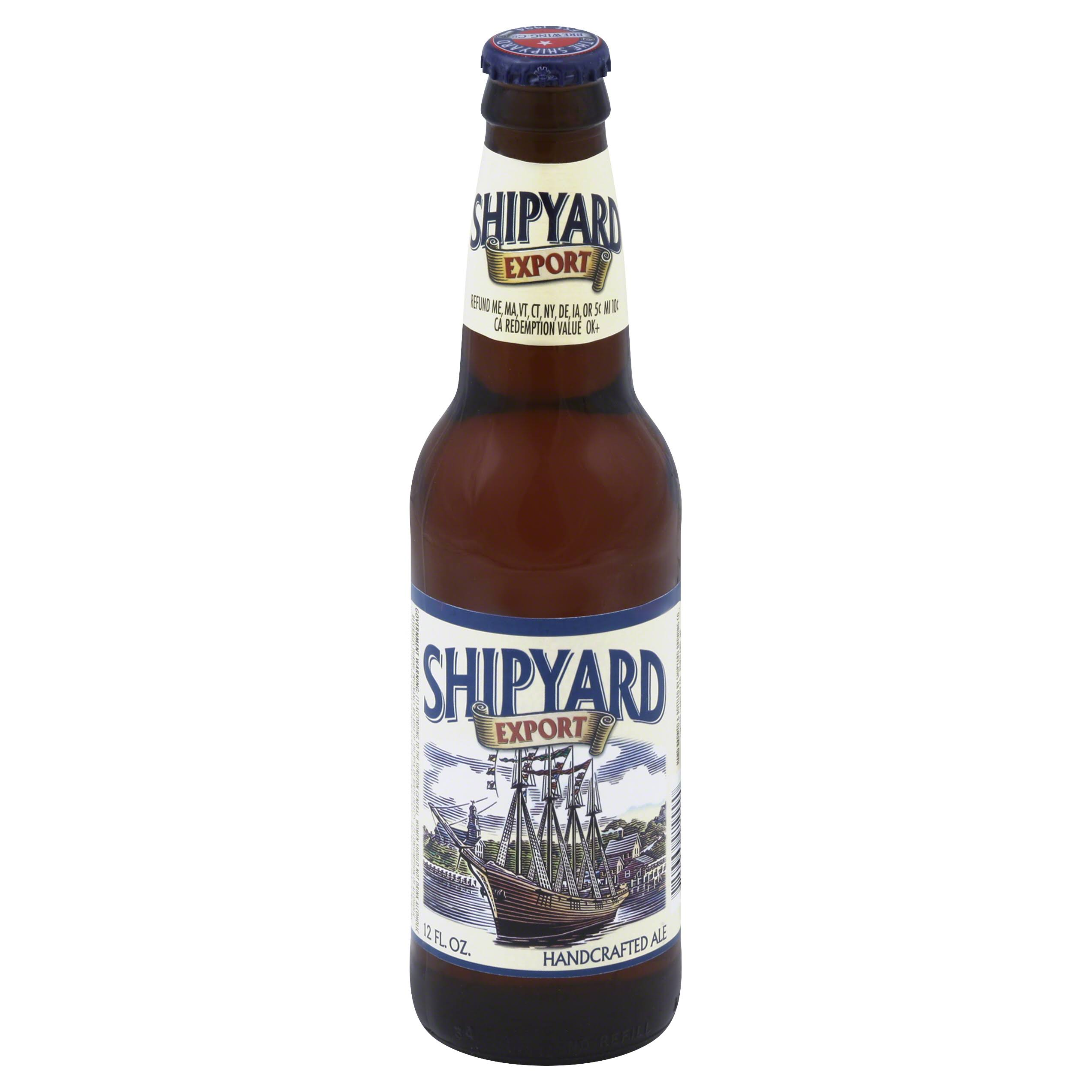 Shipyard Handcrafted Ale Beer - 12oz