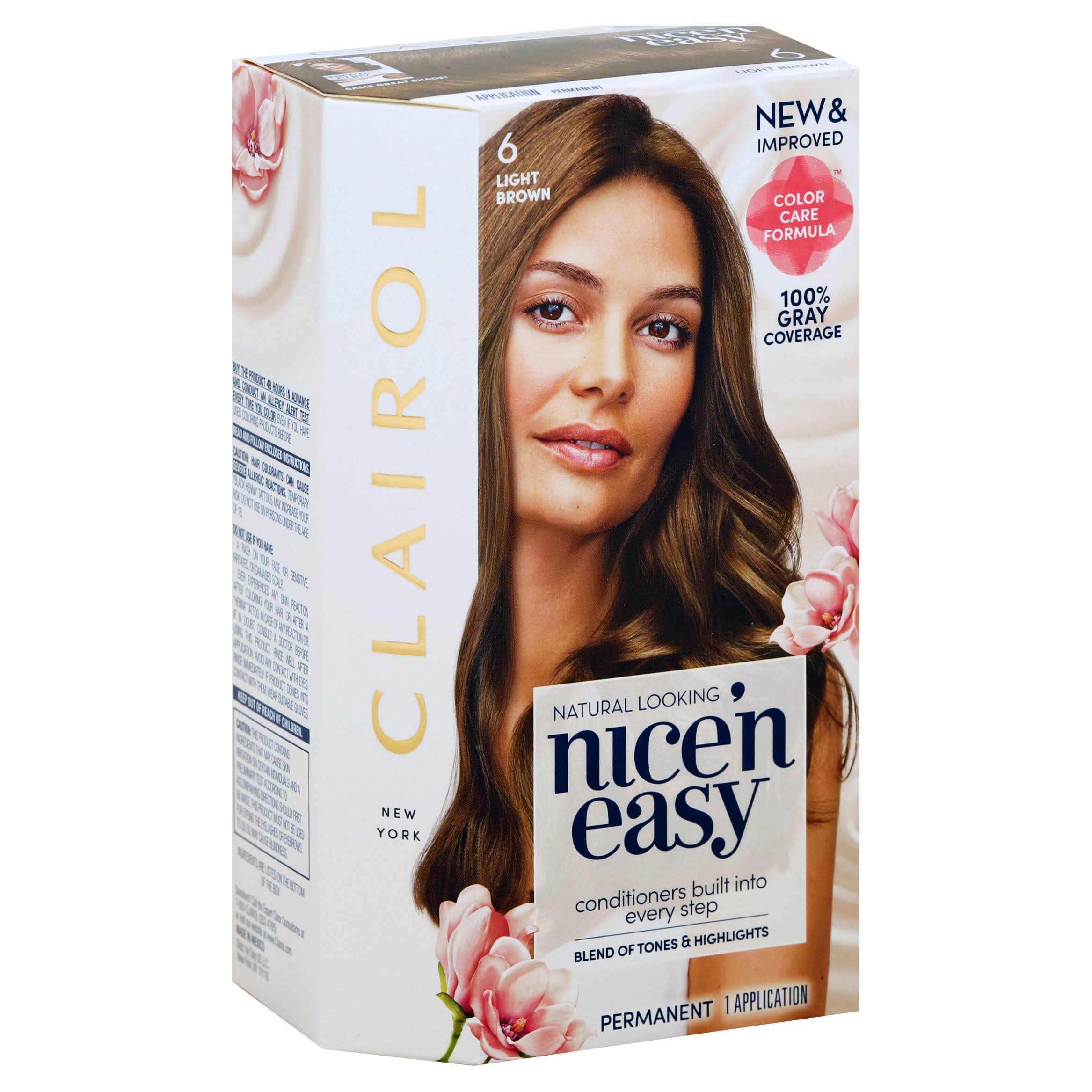 Clairol Nice 'n Easy Permanent Hair Color - 6 Light Brown