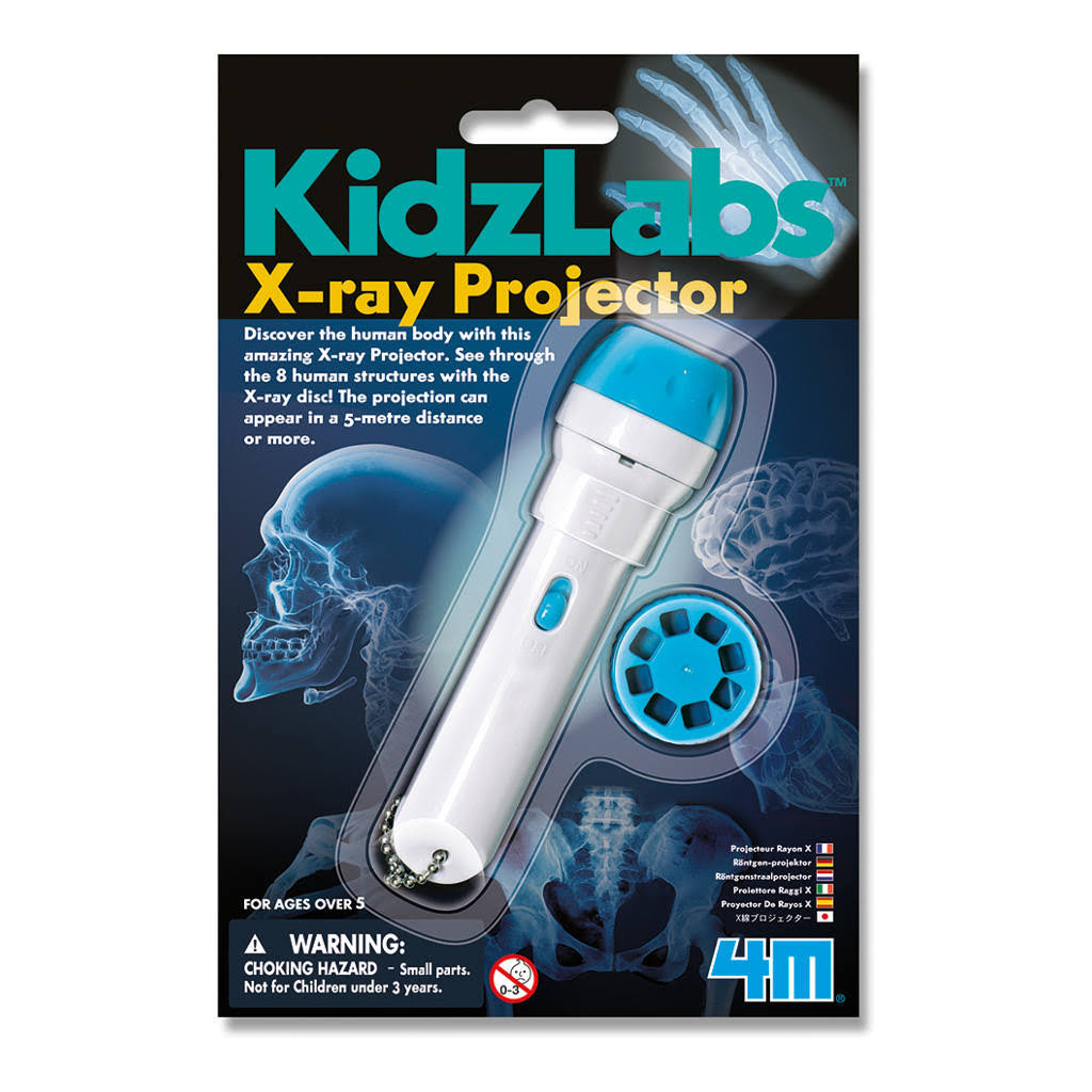 4M G010083 Kidz Labs X Ray Projector