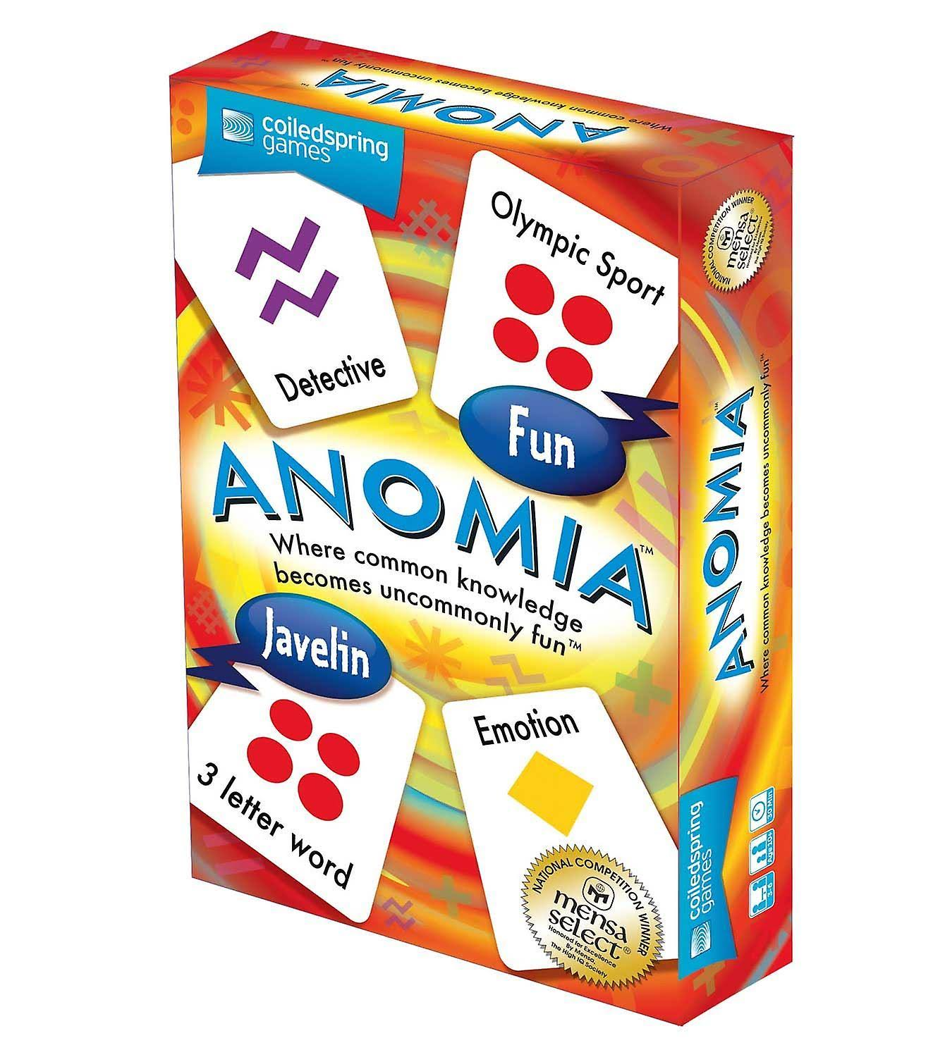 Coiledspring Games Anomia Card Game