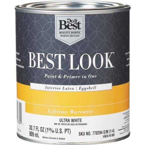 Do it Best Look Latex Paint & Primer In One - Eggshell
