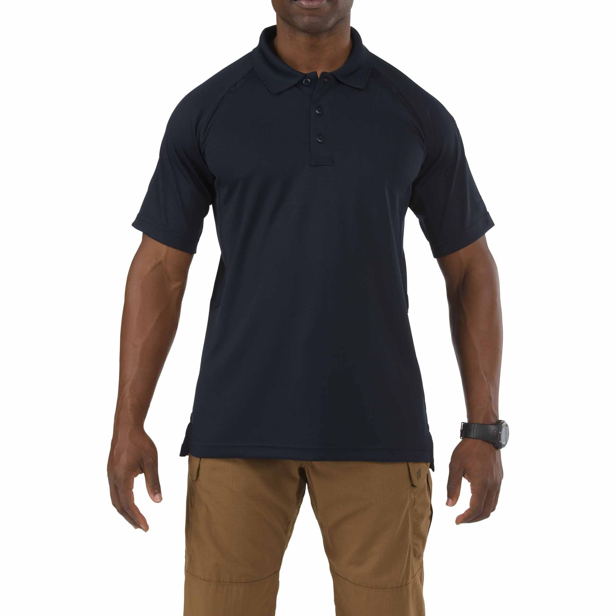 5.11 Tactical Performance Polo Short Sleeve, Dark Navy XL