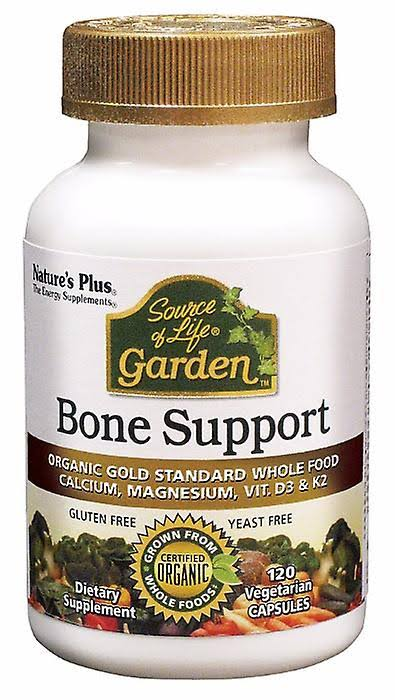 Nature's Plus - Source of Life Garden Bone Support VCAP 120