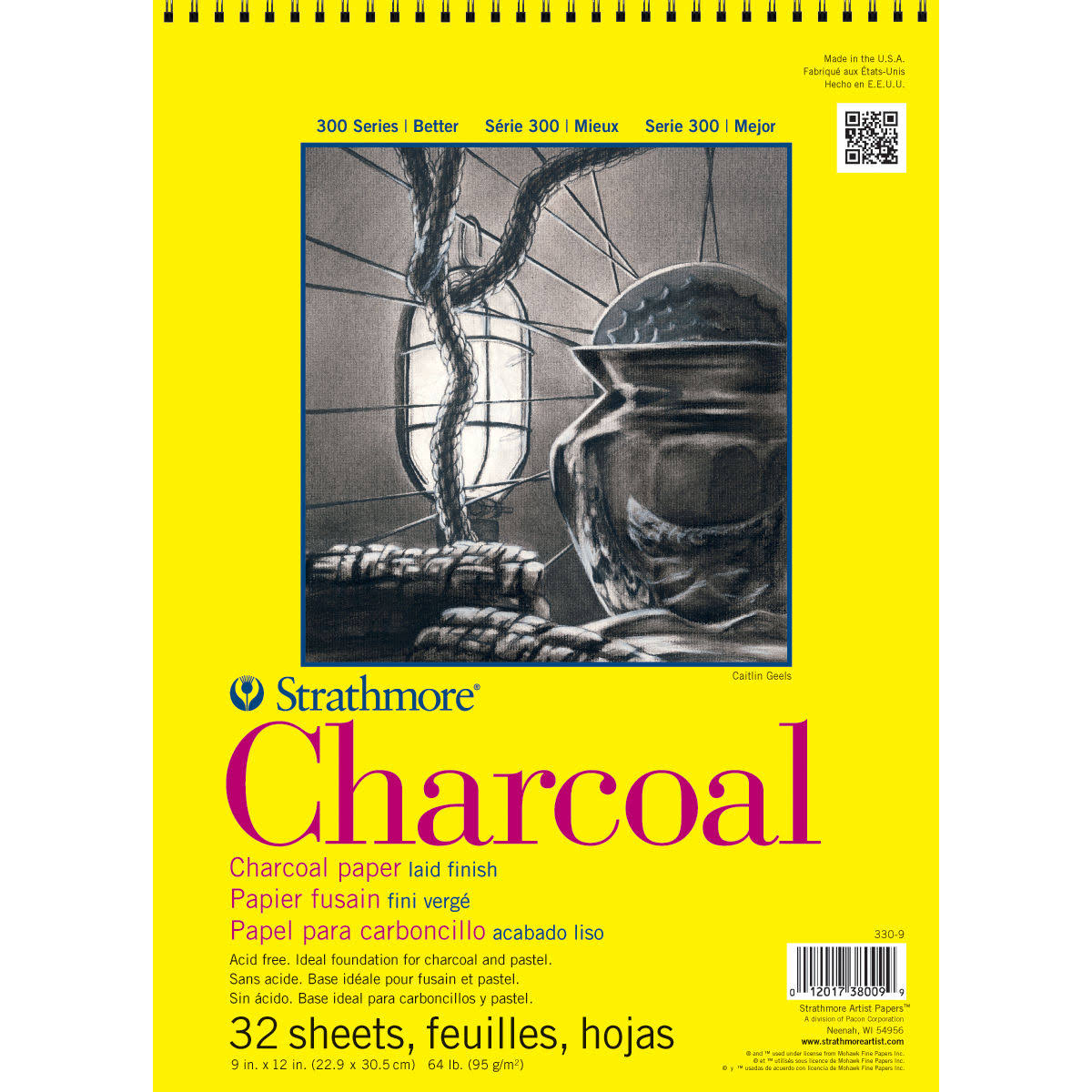 Strathmore Charcoal Paper Pad - 32 Sheets