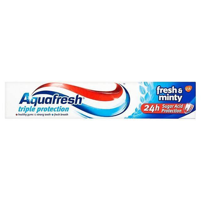 Aquafresh Fresh And Minty Toothpaste - 75ml