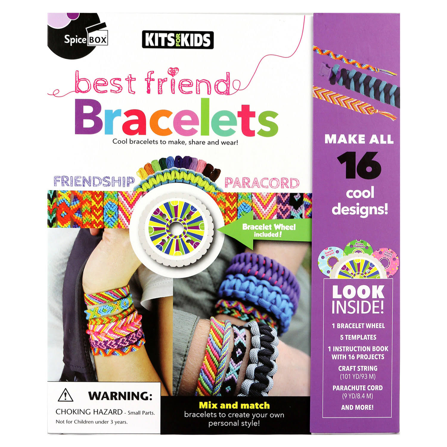 Spicebox Best Friends Bracelets Craft Kit