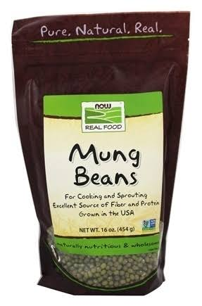 Now Foods Real Mung Beans - 16 oz bag