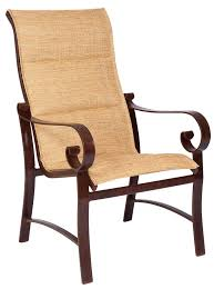 Replace Patio Sling Chair Fabric by Woodard Belden Sling Dining Chair All Things Barbecue