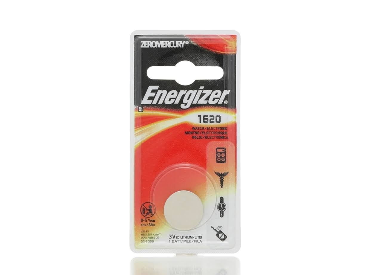 Energizer Lithium Coin Battery - CR1620
