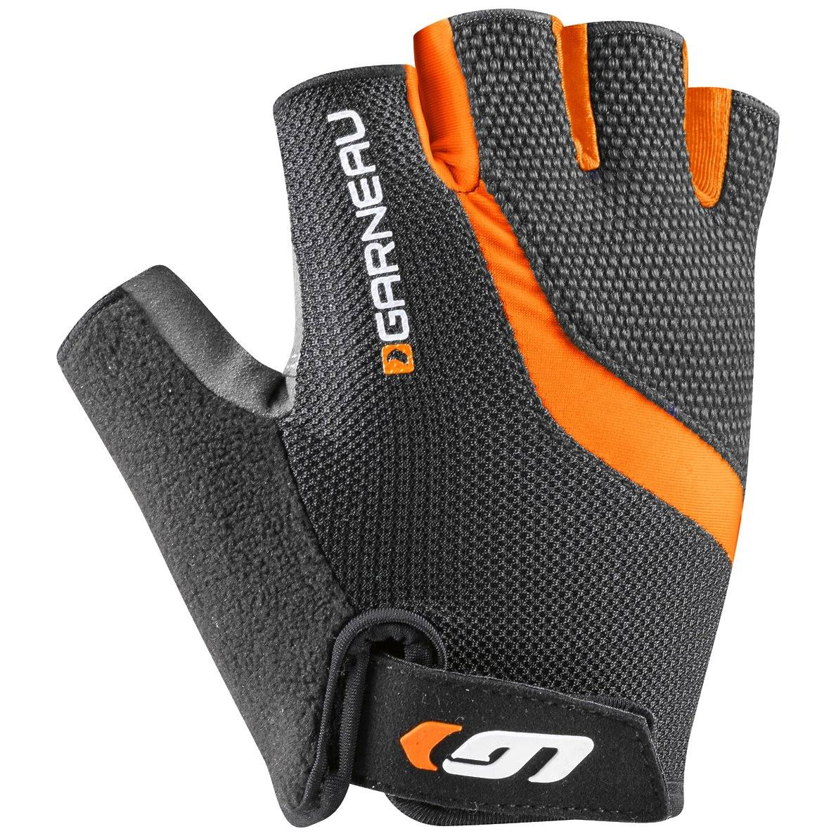 Louis Garneau 2016 Men's Biogel RX-V Cycling Gloves - 1481139 Orange Fluo - 3XL