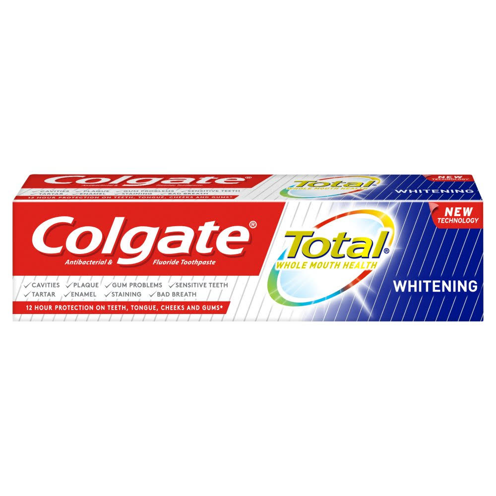 Colgate Total Advanced Whitening Toothpaste - 125ml
