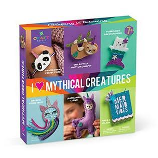 Craft-tastic I Love Mythical Creatures Kit Craft Kit