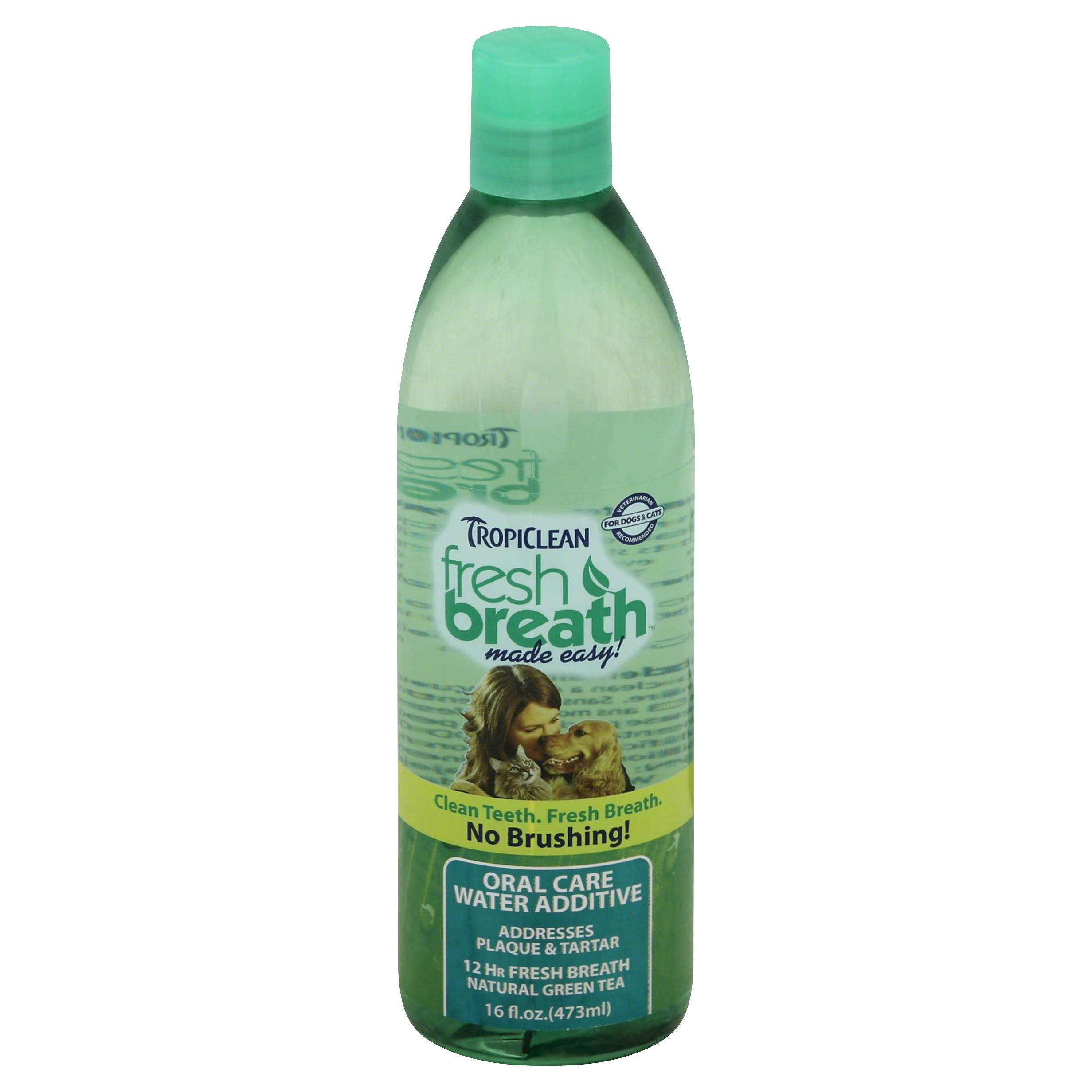 Tropiclean Fresh Breath Oral Care Water Additive - 473ml