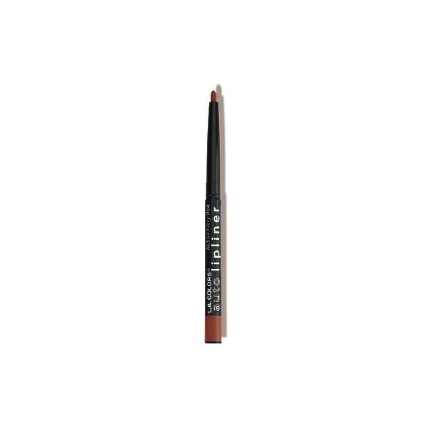 L A Colors Auto Lipliner Pencil - Perfect Brown, 0.009oz