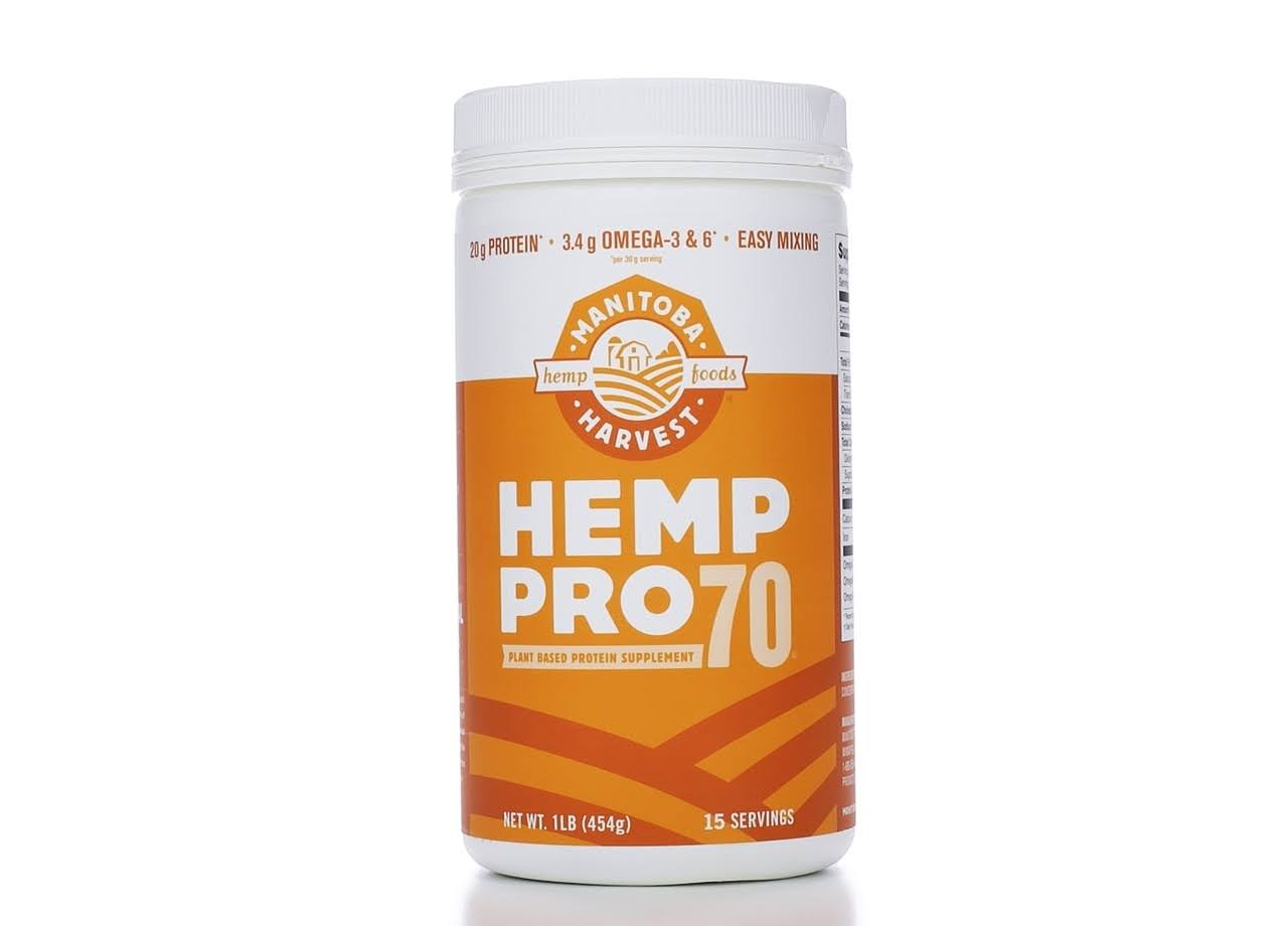 Manitoba Harvest Hemp Pro 70 Protein Supplement - 454 g