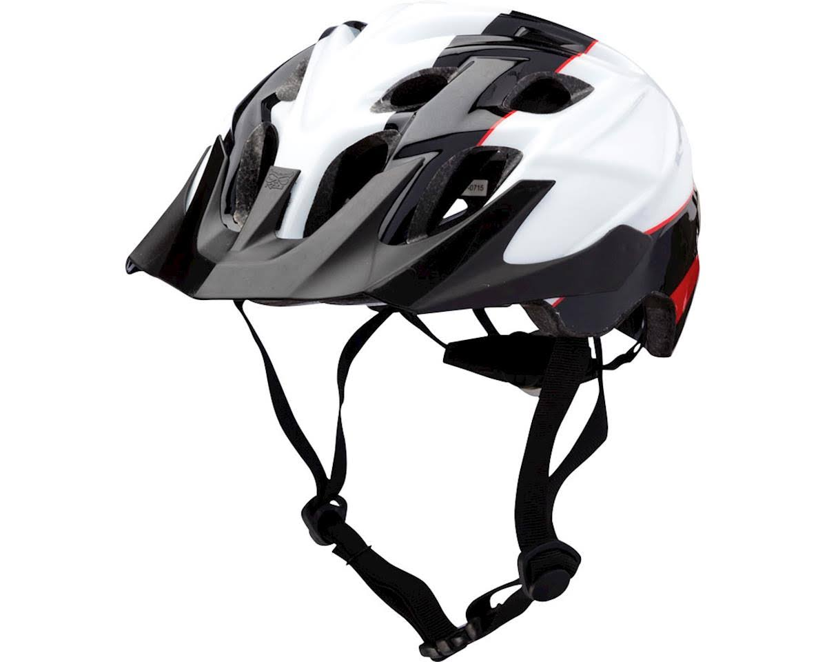 Kali Protectives Chakra Youth Helmet - Kids Sublime Black and Red, One Size