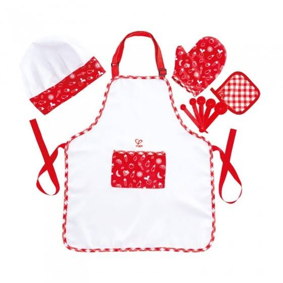 Hape Chef Kids Dress Up Set