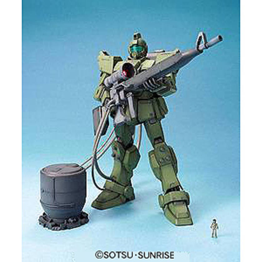 Gundam MG RGM-79 GM Sniper Model Kit - 1/100 Scale