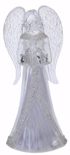 Ganz Light Up Glitter Angel Home Decor