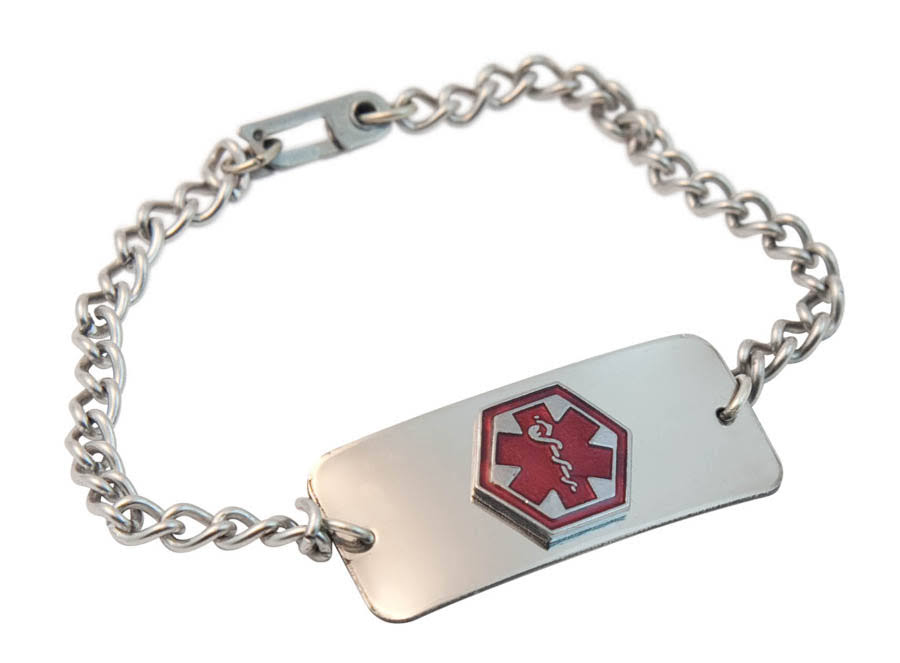 Apex Medical Emergency Bracelet - Blank